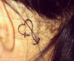 heart, cross, anchor