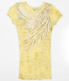 Girls-Miss Me Feather Top #buckle #fashion www.buckle.com