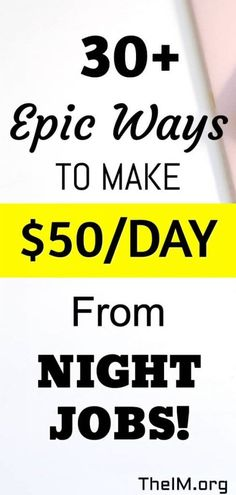 30 night jobs to make passive money from home. Earn Money Online, Make Money Blogging, Online Jobs, Money Tips, Online Income, Earning Money, Legitimate Work From Home, Work From Home Jobs, Texts