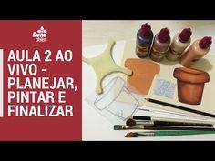 PINTANDO COM O ❤ AULA #4 COMO PINTAR VIDRO PINTURA EM GARRAFA PASSO A PASSO COM TÂNIA MARQUATO - YouTube