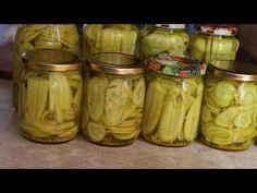 (15) Sałatka z ogórków rewelacyjna na zimę łatwy przepis - YouTube Polish Recipes, Pickles, Cucumber, Salads, Food And Drink, Keto, Jar, Vegetables, Cooking