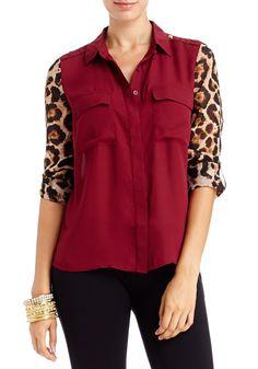 2b | Jordan Leopard Sleeve Top - View All