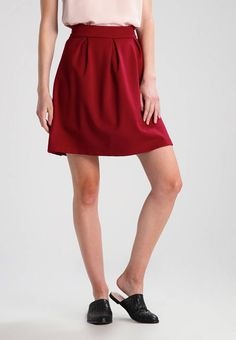 PUNTO DI ROMA PLEATED - A-line skirt - rhubarb   Zalando.co.uk 🛒 b9a93b946c1