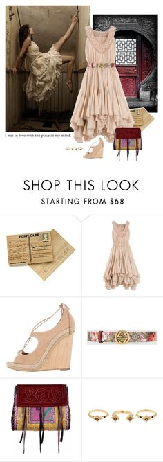 """2017: Door to the Mind"" by rockerchick21 ❤ liked on Polyvore featuring Zucca, Aquazzura, Gucci, Etro, House of Harlow 1960, burgandy, rings, ruffles, belts and fringebags"