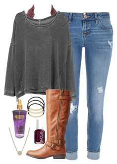"""""""i have dance today"""" by elizabethannee ❤ liked on Polyvore featuring River Island, Charlotte Russe, Free People, Essie, Victoria's Secret, Kendra Scott and BP."""