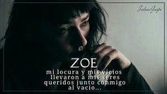 """Hi aquí un banner que hice para mi historia """"Zoe"""" súper sencillo y fácil de hacer /me gustaría mucho ver sus ideas #banner #Zoe #wattpad #Historias #libros"""