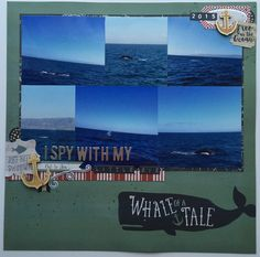 This month I decided to create a kit of supplies using the new My Minds Eyes By The Sea collection.…