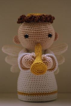 Angeli Amigurumi Tutorial : 1000+ images about amigurumi on Pinterest Crochet angels ...