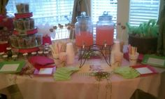 Table 2 at the Western party I did