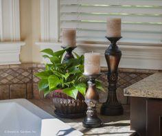 Kitchen detail - The Jasper Hill #5020. http://www.dongardner.com/house-plan/5020/the-jasper-hill. #Kitchen #HomePlan #InteriorDesign