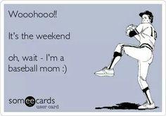 Baseball mom stuff