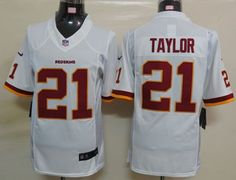 Nike Redskins  21 Sean Taylor White Men s Embroidered NFL Limited Jersey!  Only  24.50USD 5d59b8130