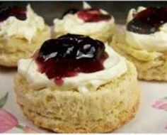 Absolutely the best scone recipe I've tried. Super happy with the results. They are tender and delicious, and you can easily add things in like orange peel or chocolate chips if you're so inclined. This is my new go-to scone recipe. Tea Recipes, Dessert Recipes, Cooking Recipes, Scone Recipes, Best Scone Recipe, Scone Recipe No Egg, English Tea Scones Recipe, Traditional English Scones Recipe, Salads