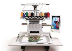 embroidery machines for sale | Brother Entrepreneur Pro PR-1000 10-Needle Embroidery Machine