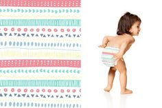 Honest Diapers in Pastel Tribal #ClassicCollection #effective #safe  #delightful