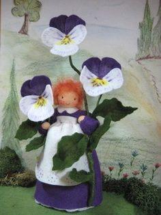 Stiefmütterchen Blumenkinder-Unikate
