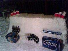 Winter Beer Pong