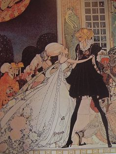 """[""""Tales From Times Past"""" - edited by Bryan Holme, published in 1977. The story is """"The Twelve Dancing Princesses"""" & it's illustrated by Kay Neilsen.]"""