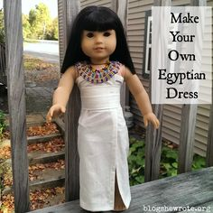 The study of historical fashion for a high schooler with History & Fashion Ancient Egypt