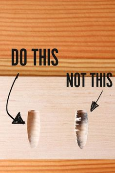 So you drill better, cleaner pocket holes Lightweight and simple crafting ideas for DIY wooden pallets 10 All Time Best Cool Tips: Woodworking Tools Diy…