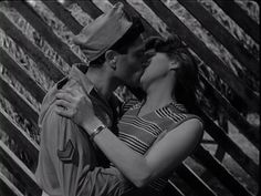 "Raf Vallone and Silvana Mangano, ""Bitter Rice"",dir. Giuseppe De Santis (1949)"