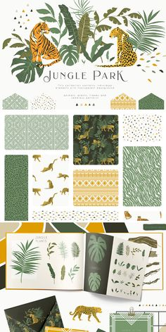 This is a great addition to create branding for your business, greeting card, photo frames and other beautiful things. Textures Patterns, Print Patterns, Jungle Pattern, Tropical Pattern, Pattern Illustration, Grafik Design, Surface Pattern Design, Leaf Prints, Vector Pattern