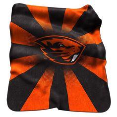 Oregon State Beavers NCAA Raschel Throw