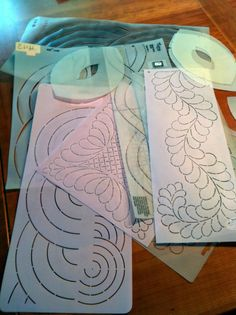 My stash of quilting stencils is one of my most valuable tools for making a quilt. I have several hundred that I have collected for over 35...