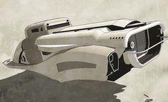 retro hover roadster by 600v (2009)