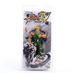 """NECA Player Select Street Fighter IV Survival Model Ken Red Action Figure Toy 7"""" 18CM"""