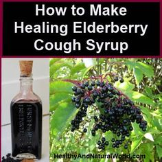 How to Make Healing Elderberry Cough Syrup | It doesn't taste bad, it's cheap, chemical-free, and made in no time  •1 c fresh black elderberries (or ½c dried elderberries) •3 ½ c filtered water •2 T dried Echinacea •2 T fresh ginger root (or 1T dried) •1 tsp ground cinnamon (or more to flavor, I love cinnamon so I always add a bit more) •½ tsp cloves or clove powder •1 c raw honey