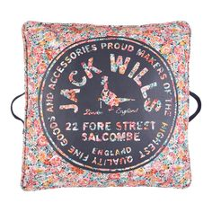 been begging my mother to buy this floor cushion for my loft / Jack Wills $39 ON SALE RIGHT NOW