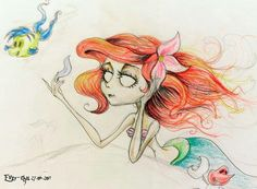 Ariel, Tim Burton style