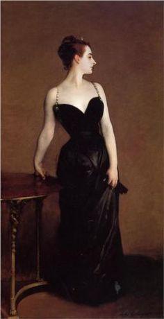 Madame X (also known as Madame Pierre Gautreau) - John Singer Sargent