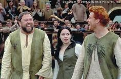 A Knight's Tale.... Typical expressions for the trio.