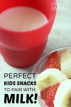 Perfect Kids Snacks to Pair with Milk at B-Inspired Mama