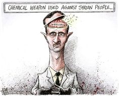 assad political cartoons - Google Search