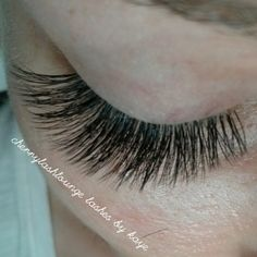 Eyelash extensions by kaye at cherry lash lounge