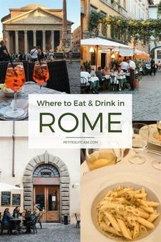 One of the best ways to experience Rome is to sit at a table outside, along a cobblestoned street, eat pasta and drink it all down with a glass (or two) of red wine. There are so many restaurants and…MoreMore #italytravel