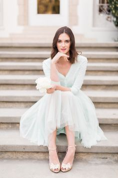 Jenny Yoo 2016 Light Blue Bridesmaid Dresses / http://www.deerpearlflowers.com/jenny-yoo-2016-bridesmaid-dresses/2/