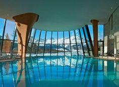 Grand Hotel Kronenhof in the Swiss Alps