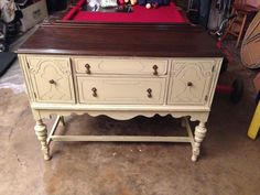 Antique buffet, perfect shabby chic
