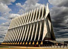 Cadet Chapel – Air Force Academy Colorado – USA