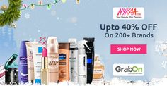 Bring Joy To Your World - Shop Your Favorite Brand @ #Nykaa & Get Upto 40% Off. http://www.grabon.in/nykaa-coupons/ #SaveOnGrabOn