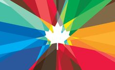 Watching Canada in the Olympics. Mosaic Maple Leaf Graphic for the Canadian Olympic Team. Olympic Committee, Olympic Team, Olympic Games, Olympic Icons, Olympic Logo, Olympic Athletes, O Canada, Canada Logo, Great Logos