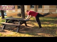 How To Kong Vault: Simple progression steps to learn the kong vault — Tapp Brothers Parkour Training Academy Tutorials For Beginners - Learn How To Parkour From Professionals