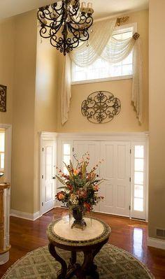 2-story Foyer Window Treatment