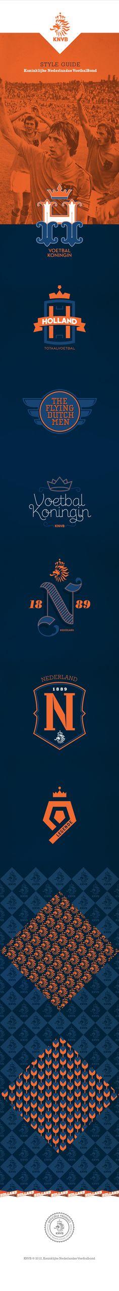 KNVB by Battagliotti Bros. , via Behance