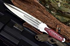 CFK USA iPak Custom Handmade D2 Micarta Crusader Short Sword LARGE Dagger Knife #CFKCutleryCo