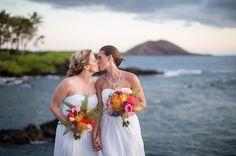 Tropical Bridal Bouquets by Petals -- Island Destination Wedding, Maui, Hawaii - Kukahiko Estate - wedding by Bliss - Kaua Wedding Photography